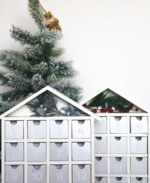 Silver & White Advent Calendars