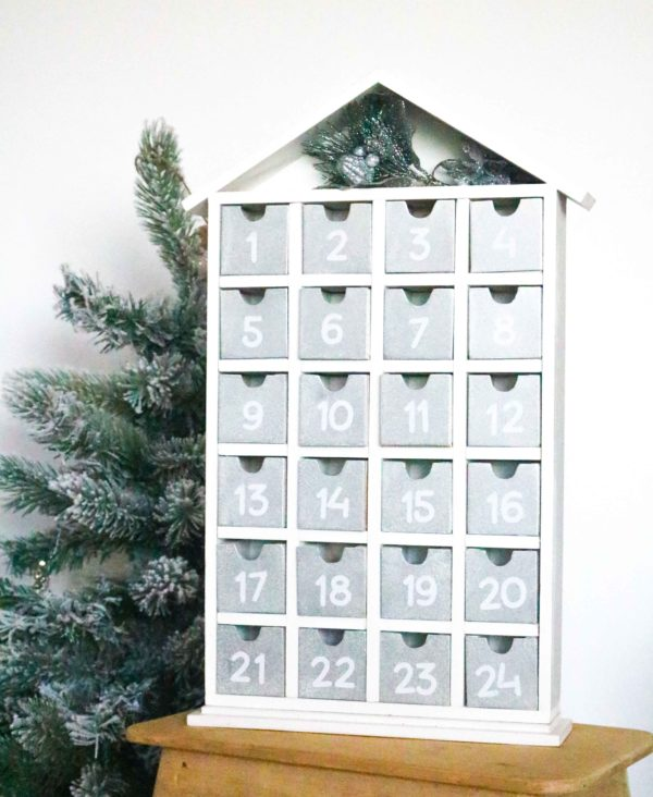 Silver & White Advent Calendar