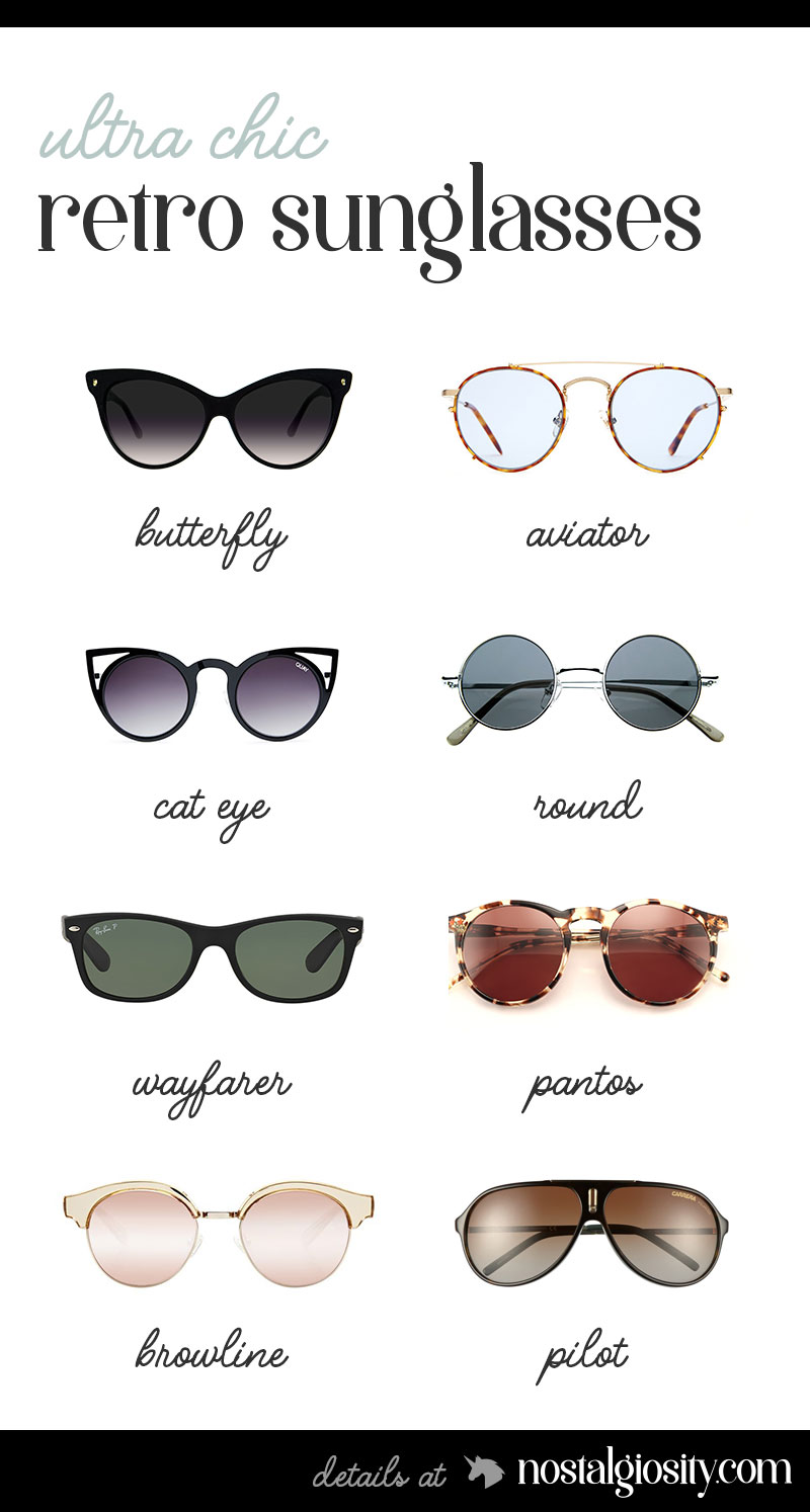 Retro Sunglasses Chic Shades